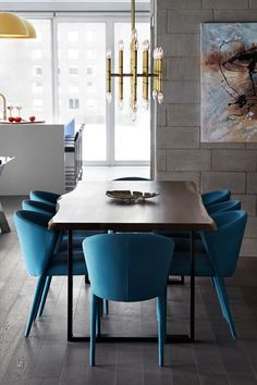 Interior Design: LUX Design Project: Richmond Street Renovation AMELIE Chairs from @CalligarisTo