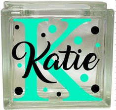 Check out our glass block sticker selection for the very best in unique or custom, handmade pieces from our craft supplies & tools shops. Vinyl Crafts, Vinyl Projects, Wood Crafts, Paper Crafts, Decorative Glass Blocks, Glass Block Crafts, Glass Craft, Beer Wedding, Glass Boxes