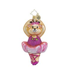 """Christopher Radko Ornament - """"On Her Tippy Toes"""""""