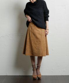 ハギフレアースカート #シータ・ミュー