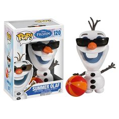 Disney Frozen Summer Olaf Pop! Vinyl Figure - Funko - Frozen - Pop! Vinyl Figures at Entertainment Earth