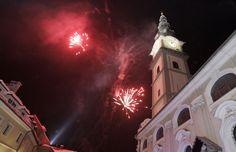 New Year's Eve in Klagenfurt am Wörthersee. Klagenfurt, Eve, Archive, City