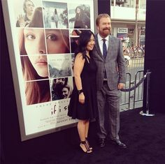 Our amazing director R.J. Cutler at the If I Stay Premiere!