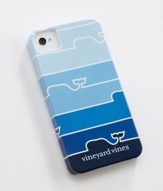Whales or stripes? Or better yet, both! Whale Fade iPhone Case from Vineyard Vines.