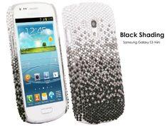 TheBlingZ Samsung Galaxy S3 mini i8190 Hülle - Schwarz Schattierung Diamant Strass Glitzer Bling Bling Case Cover Hülle Schutzhülle Etui + Jetzt kaufen!! Kostenlose Screen Protector , http://www.amazon.de/dp/B00CZDM9IQ/ref=cm_sw_r_pi_dp_Dd4nsb1SQX27F