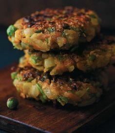 Vegan, die pure Kochlust, Gemüseburger