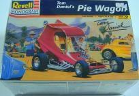 REVELL/MONOGRAM TOM DANIEL'S PIE WAGON MODEL CAR KIT