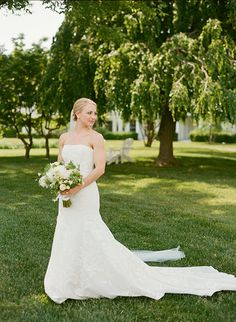Chic wedding in Maryland at Inn at Perry Cabin by Belmond.