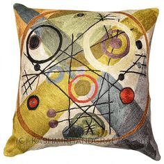 Image from http://kashmirhandcrafts.com/wp-content/uploads/2013/07/kandinsky-circles-in-circle-decorative-pillow-cover-silk-1.jpg.