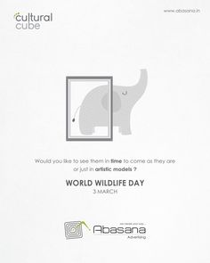 World Widelife Day Abasana Advertising www.abasana.in