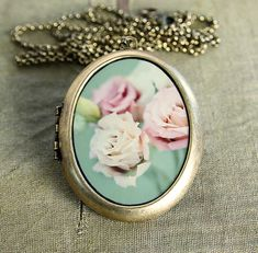 Shabby Chic - Fine Art Photo Locket Necklace - Collaboration with IreneSuchocki Fine Art Photo, Photo Art, Rose Bonbon, Jewelry Accessories, Fashion Accessories, Vintage Soul, Valentines Day Gifts For Her, Vintage Jewelry, Unique Jewelry