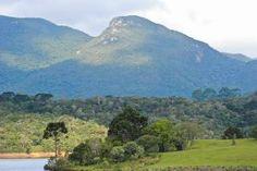 Vista do Morro do Canal (Foto: Bruno Oliveira). Turismo de Aventura e Ecoturismo no Roteiro - Prefeitura Municipal de Piraquara - Turismo