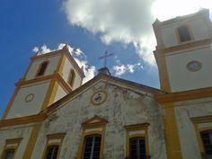 Igreja da Ordem Terceira de São Francisco, construído entre 1802 e 1815, no Centro Histórico de Florianópolis.