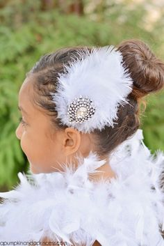 DIY Feather Hair Clip