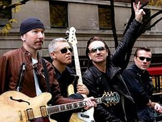 U2 Enters Rock Hall of Fame 2004
