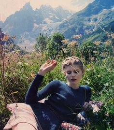 mountains and fashion. whats better than that