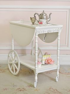 I would really like a Tea Cart for my dinning room.