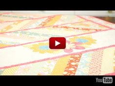 Riley Blake Designs Video: Kimberly Bourne Daisy Quilt...Gorgeous!!!