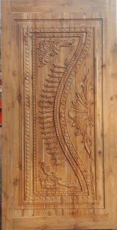 Ideas modern front door wood stones for 2019 Single Door Design, Wooden Front Door Design, Modern Front Door, Wood Front Doors, Rustic Doors, Wooden Doors, Room Door Design, Door Design Interior, Interior Exterior