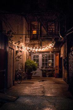 Nyc Photograph - Freemans Alley by Robert J Caputo Le Bauhaus veut City Aesthetic, Travel Aesthetic, Aesthetic Light, Aesthetic Backgrounds, Aesthetic Wallpapers, Bauhaus, Architecture, Aesthetic Pictures, Exterior Design