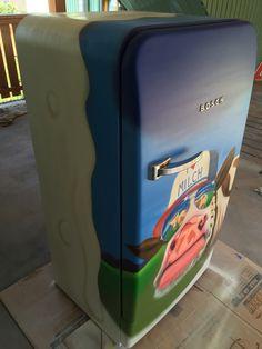A milky fridge...