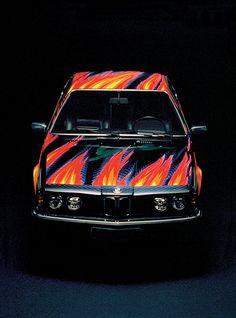 BMW car art: Ernst Fuchs, 1982