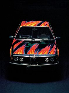BMW car art: Ernst Fuchs, 1982