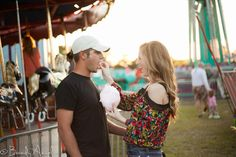 Engagement pictures at the fair!