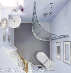 MAKE YOUR SMALL BATHROOM SEEM BIGGER