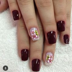 43 Unique Spring And Summer Nails Color Ideas That You Must Try 119 Shellac Nail Colors, Shellac Nails, My Nails, Acrylic Nails, Manicure E Pedicure, Gel Nail Designs, Beautiful Nail Designs, Stylish Nails, Flower Nail Art
