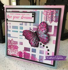 8x8 Tent Card made using Crafter's Companion Foil Transfers and Foils – designed by Mel Jess #crafterscompanion