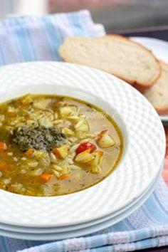 Бърза френска зеленчукова супа