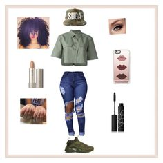 """""""You take my love for granted ... I just don't understand it"""" by ddb1220 ❤ liked on Polyvore featuring Casetify, Ilia, Equipment, NIKE and NARS Cosmetics"""