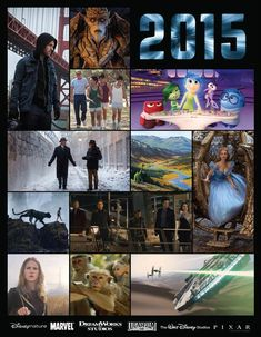 Line up of Disney,Marvel and Dream Works films for 2015 includes #starwars teaser trailer.