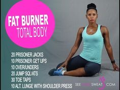 Fat Burner Total Body Workout - YouTube
