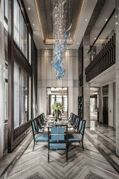 The Trick for Luxury Hotel and Lobby Design Inspiration You don't want your interior to appear too cluttered! The things which you increase . Luxury Homes Interior, Luxury Home Decor, Room Interior, Home Interior Design, Interior Architecture, Neoclassical Interior, Lobby Design, Elegant Homes, Dining Room Design