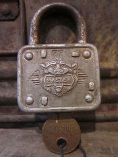 Master Lock Under And Key Up Door