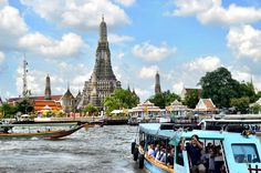 Quintessential Bangkok: temples and tuk-tuks, the mighty Chao Phraya River, gritty Khao San Road... and watery New Year's celebrations, drag-show cabaret, and tom yum soup. // We compare the price and many hotels to help you find the best offer http://www.world-traveler.info/