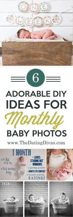Newborn Baby Pics – Tips, Tricks, and Inspiration I LOVE these creative monthly baby pictures to document my newborn's growth! Baby Poses, Newborn Poses, Newborn Care, Baby Newborn, Newborns, First Baby Pictures, Newborn Pictures, Photoshoot Idea, Baby Monat Für Monat