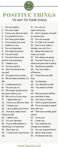 Here's 55 positive things to say to your child to help them feel confident and loved! Words of encouragement like these build feeling of self worth. Positive things to say to kids boost self esteem and encourage a growth mindset. Parenting Books, Gentle Parenting, Parenting Quotes, Parenting Advice, Kids And Parenting, Parenting Classes, Parenting Styles, Funny Parenting, Autism Parenting