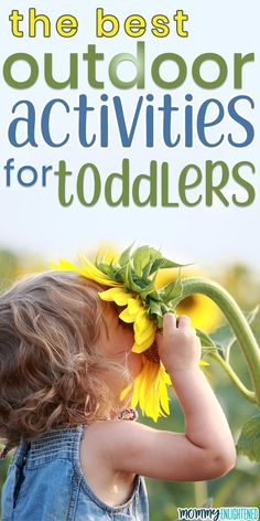 Here are the best outdoor activities you can do with your toddler this spring and summer! The weather is warming up so take your little one outside for some quality time! fun activities The Best Outdoor Activities To Do With Your Toddler Outdoor Activities For Toddlers, Activities To Do, Infant Activities, Summer Activities, Parenting Toddlers, Parenting Hacks, Parenting Classes, Bebe 1 An, Education Positive