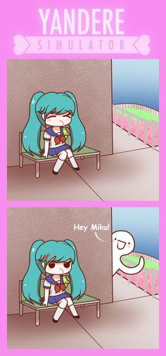 one thing to say..HAHAHAHAHAHA!!!!!!!!!! ( its saki miyu still no matter HOW MUCH she looks like miku )