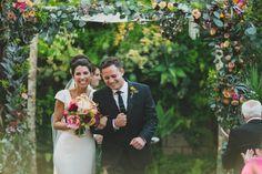 Photography : Megan & Brent From Studio Castillero | Photography : Megan & Brent Of Studio Castillero | Wedding Dress : Trish Lee | Grooms Suit : Hugo Boss Read More on SMP: http://www.stylemepretty.com/california-weddings/los-angeles/2014/10/27/urban-chic-la-wedding/