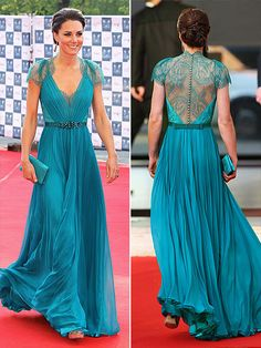 Perfect color. perfect back AND front details. perfect sleeves. perfect silhouette. I. want. that. dress.