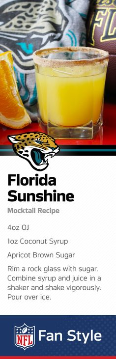 It sure gets hot in Jacksonville. Cool down with this refreshing citrus and coconut mocktail recipe – a perfect combo for any Jaguars Homegate (or BBQ!)