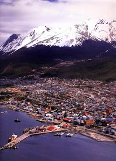 Ushuaia, argentina - el fin del mundo, the southernmost city in the world Ushuaia, End Of The World, Wonders Of The World, The Places Youll Go, Places To See, Beautiful World, Beautiful Places, Cities In South America, In Patagonia