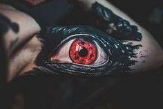 hyperrealistic eye tattoo by Megan Allard
