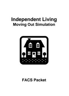 FCS Independent Living Classes - Free Printable activities and lesson about getting ready to move out.