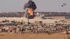 GUERRA NA SIRIA - CARRO BOMBA - ATAQUE SUICIDA