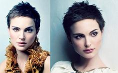 Natalie Portman. Don't normally dig girls with short hair but...